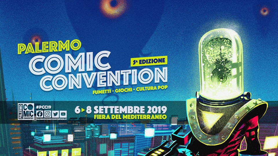 PALERMO COMIC CONVENTION 2019